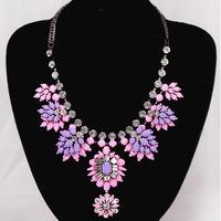 2014 fashion necklace shourouk style Chain Necklaces & Pendants luxury statement shourouk necklaces for women choker necklace