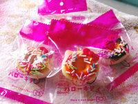 4.5cm Kawaii Squishies Free Shipping Wholesale Mini Hello Kitty Sweet Donut Squishy Bread/Keychain for Mobile Phone