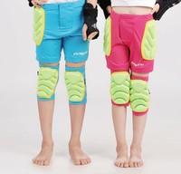 Child Kid Boy Girl Knee Pad Pants Set Knee Guard Protector Impact Padded Shorts Roller Skiing Ice Skating Sport Protective Gear