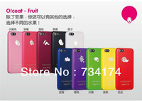 retail wholesale  fruit series accessories protective case for Iphone5S 5 ABS Hard Thin 10 colors Water/dirt/shock proof