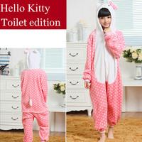 Hello Kitty Cat Children's Pajamas Anime Cosplay Costumes Pijama Infantil Sleepwear Kids Christmas Pajamas Sets For Girls Boys