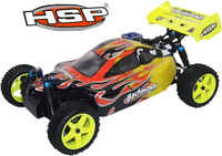 Christmas gift !HSP Baja 1/10 Nitro Power Scale off Road Buggy 4WD RC car Hobby CAR 94166 with 18cc engine +2.4G Radio Control
