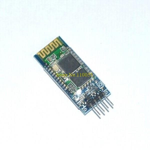 10pcs/lot HC-06 Wireless Serial 4 Pin Bluetooth RF Transceiver Module RS232 TTL for Arduino HC06 Bluetooth Module(China (Mainland))