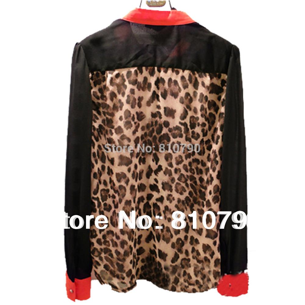 Леопардовые Блузки Доставка