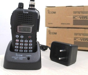 FREE SHIPPING DISCOUNT long range IC V85 VHF Transceiver 1700mAH high battery HAM Two Way Radio 7W Power  ICOM VHF Walkie Talkie