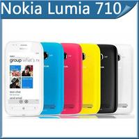 Original Nokia Lumia 710 3G WIFI GPS 5MP 3.7'' 8GB bluetooth Color phone Mobile Phone 7.5 Good quality refurbished free shipping