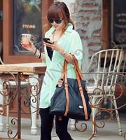 4pcs/lot Europe Women's Fashion Loose Long Sleeve Chiffon Floral Print Shirt Blouse Tops Drop shipping 16450