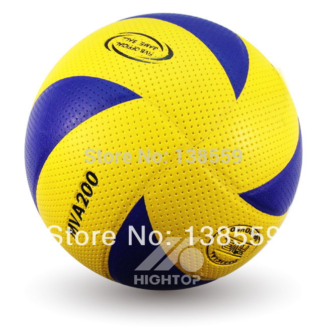 Free Shipping New Brand Official Volleyball High Quality 8 Panels Match Volleyball Free With Net Bag+Needle(China (Mainland))