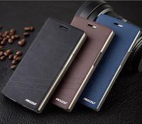 Original Afan Flip Leather Case & Sandstone Back Case Cover Skin For Oneplus one Smart Phone