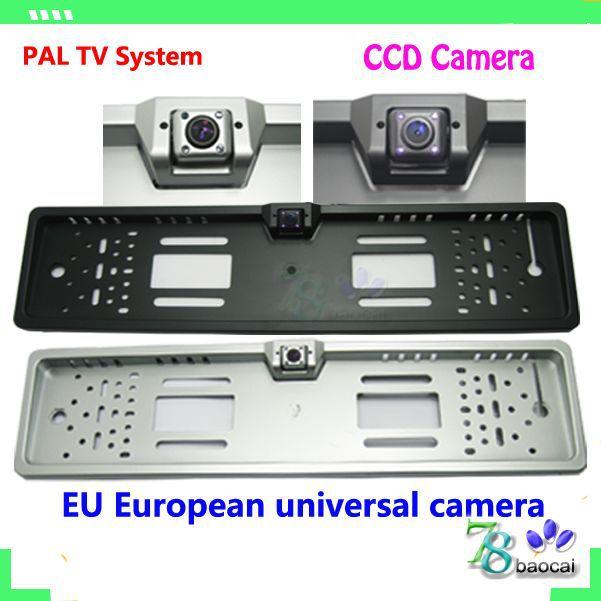Hd auto ccd-kamera Einparkhilfe eu europäischen Lizenz vorne ansicht von hinten kamera backup kamera rückwärts einparken kamera zurück
