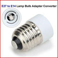 ( 300 pcs/lot ) E27 to E14 Base Holder Socket Led Light Lamp Bulb Adapter Converter Wholesale