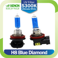 XENCN H8 12V 35W 5300K Emark Blue Diamond Light Replace Upgrade Car Bulbs Xenon Look Halogen Quartz Fog Lamp Free Shipping 2pcs