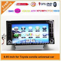 Toyoa Corolla EX/YARIS/TOYOTA KLUGER/Toyota VIZI 1998-2005/Avensis/Toyota Estima 2001-2006 Car DVD Player,GPS Navigation,Radio