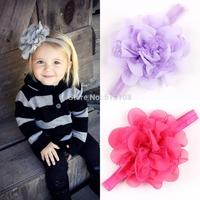 Infant girls Flower Headbands baby headband girls headwear newborn toddler hair band baby girl's hair accessories