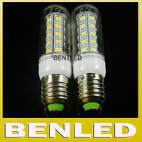 Ultra bright  E27 5730 LED Warm white/ white 220v SMD 5730 12W E27 base LED bulb lamps, 36 leds chandelier lighting, 2pcs/lot
