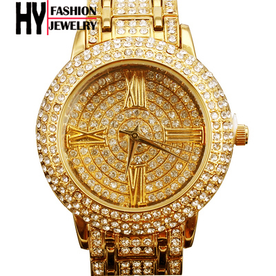 Free shipping top quality three pin Japan Miyota 2035 luxury women dress watches fashion czech rhinestone