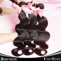 queen hair 300gram/lot cheap price Indian virgin hair body wave 8inch to 30inch,100% indian remy hair free shipping by DHL