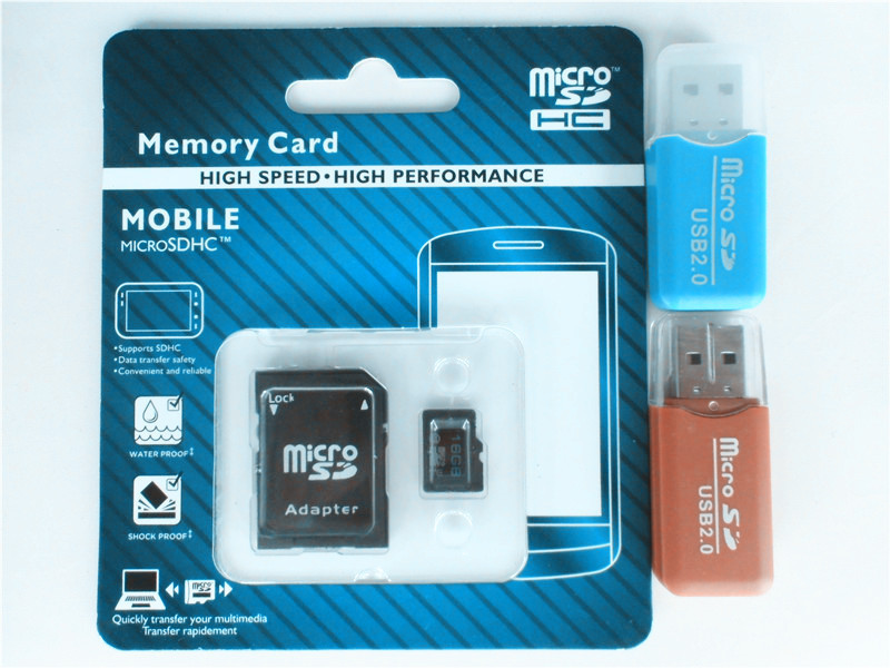 Wholesale memory card Micro SD card 32gb 64GB class 10 micro sd 8GB 16GB Flash TF CARD +SD transfer adapter+card reader(China (Mainland))