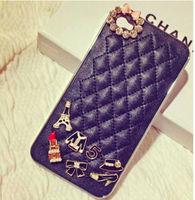 For iPhone 4 4s 5 5s 5c Case Diamond Luxury Lady Noble Leather Girl Fashion For iPhone4 iPhone4s iPhone5 iPhone5s iPhone5c Apple