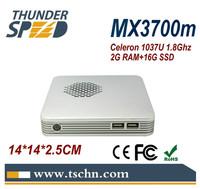Newest 1037u Mini Desktop Computer MINI PC X3700m with NM70 Chipset HD2000 Graphics 2G RAM 16G SSD Windows/Linux OS