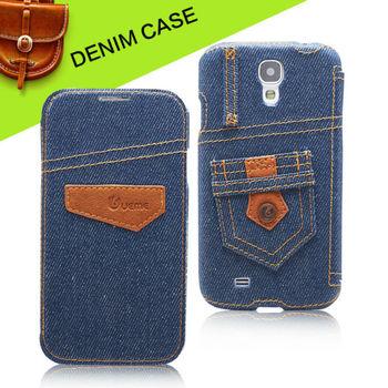 Флип джинсовый чехол для samsung galaxy s4 чехол i9500 чехол мобильный сумка оригинальный бренд уникальный дизайн