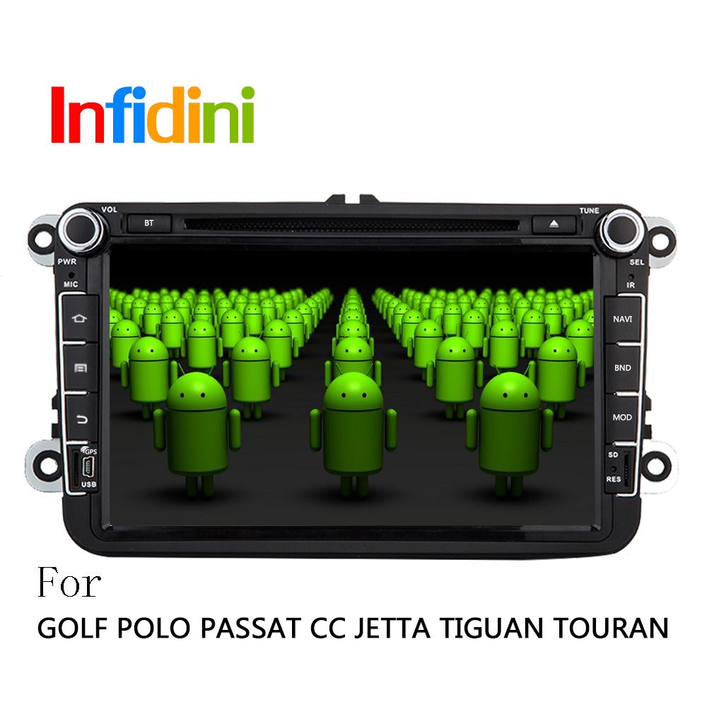 Android 4.2 Car DVD For Volkswagen VW Skoda POLO PASSAT CC JETTA TIGUAN TOURAN Bora Touareg GOLF 5 6 7 4 Fabia Superb GPS Radio(China (Mainland))