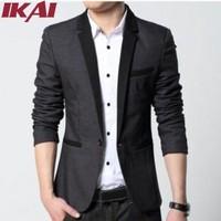 2015 New Brand Blazer Men Suits For Mens Black Business Fashion Coats Men's Blazers Suit Jackets XZN001-2