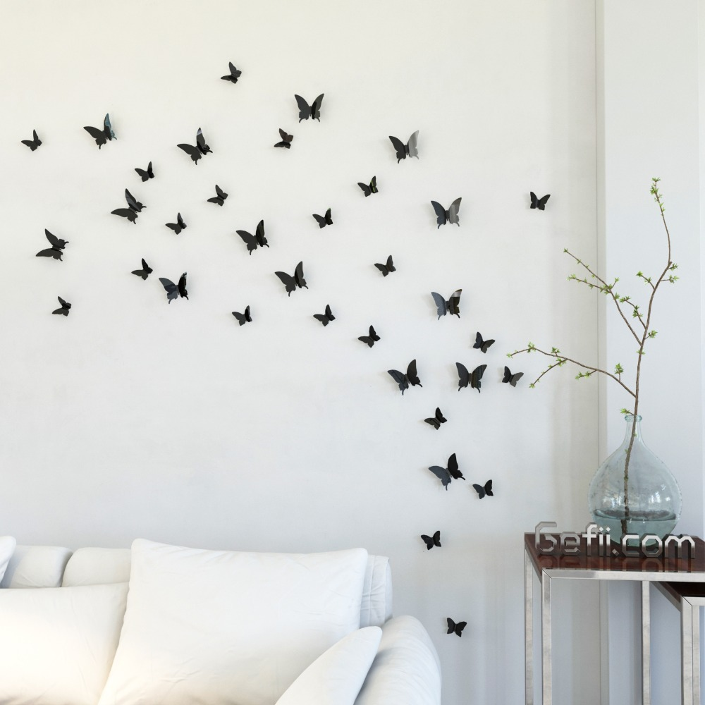 Elegant Butterfly DIY Wall Decor Home Design Ideas