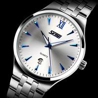 Relogio masculino skmei fashion 9071 military sport quartz watches men luxury brand Digital full stainless Steel men wristwatch