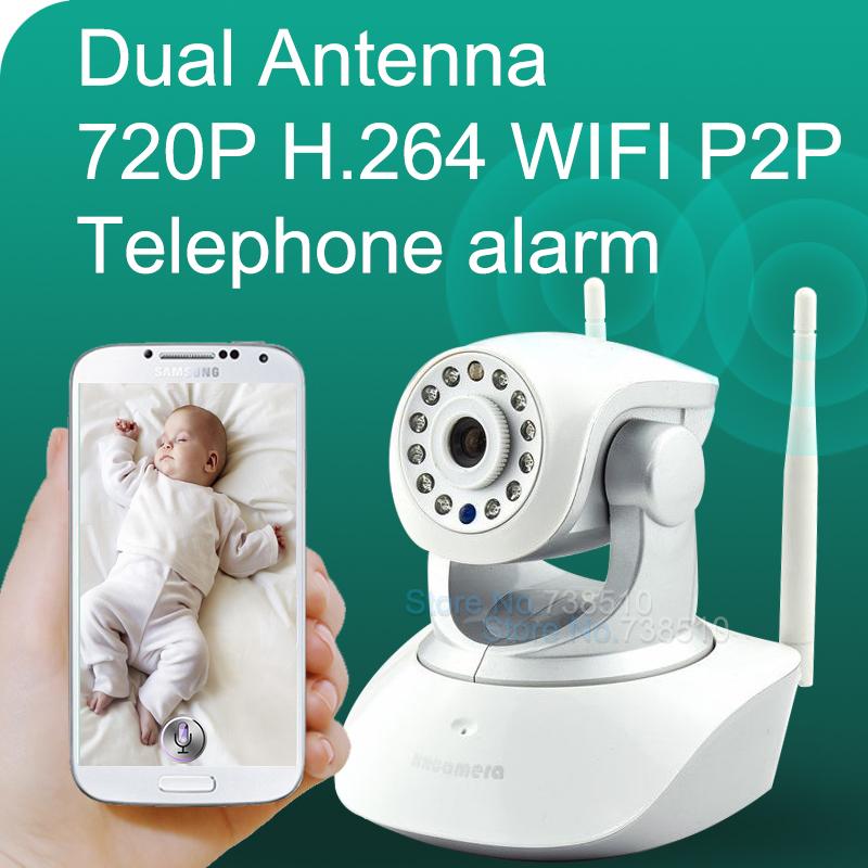 HD 720P Video Baby Monitor wireless IR Video Talk intercom one Camera Night Vision video / audio Baby Monitor digital WiFi Baby(China (Mainland))