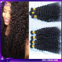 Vip Beauty Hair Deep Curly Braizlian virgin hair weave Wholesale Human hair extension Brazilian curly virgin hair natural color
