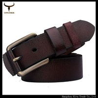 New arrival vintage mens belts 2014 vintage style genuine leather belt is for men and women high quality belt three color 03