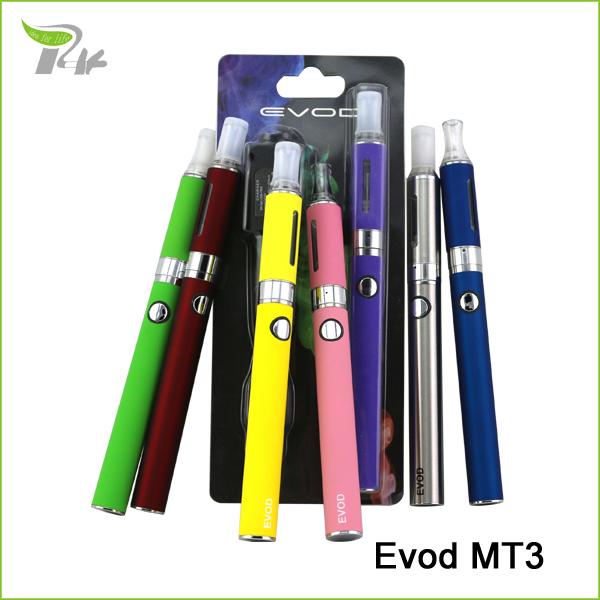 Electronic cigarette evod MT3 ecigarette 1100mAH ego battery vape vaporizer pen e cigarette e cig starter