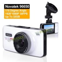 Exclusive AT66 Car Camera DVR Recorder Camcorder Dash Cam+Novatek 96650+170 Degree 6G Lens+Advanced WDR + Built in 32MB C1-0