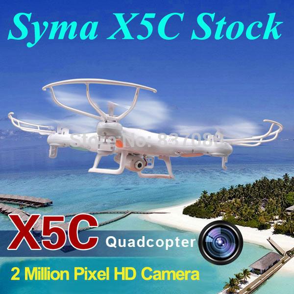 Prezzo più basso 1000% syma x5c/x5 2.4g elicottero rc 6 assi giroscopio quadcopter fotocamera opzionale quadcopter drone con videocamera hd rtf