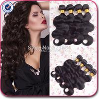 Brazilian virgin hair body wave 3 pcs lot free shipping brazilian body wave huaman hair cheap brazilian hair weave bundles