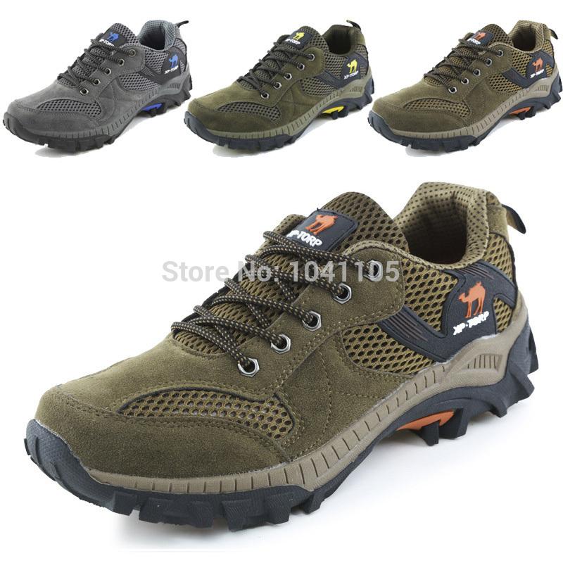 Hommes chaussures de randonnée imperméable à l'eau en plein air 2014 fun& rock hommes chaussures de sport chaussure de randonnée respirant. 7-12 nous chaussures de montagne d'escalade