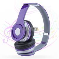 Brand New High Quality sport Wireless Bluetooth Stereo Headset Headphone Earphone + Mic FM Radio for PC/Phone b6