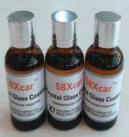 glass coating liquid quartz coating liquid silicone coating OEM order Private Label OK-58xcar--PERFECT KIT (Three Kits package)