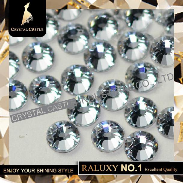 Top Grade AAAAA Luxury SS10 2.7-2.9mm Crystals Clear White Flatback Hotfix Strass Nail Art Rhinestones Hot Fix For Women Dresses(China (Mainland))