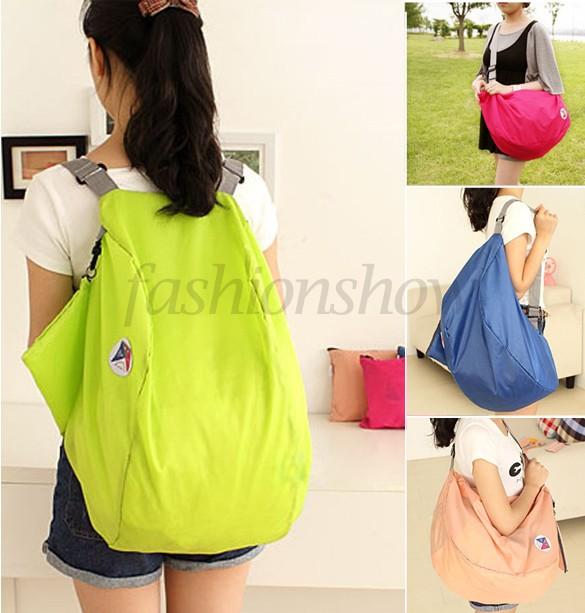 Discount Women Travel Bags Luggage Bags Sports Folding Nylon Travel Backpack Large Capacity Bag 12(China (Mainland))