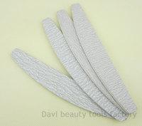FREE SHIPPING manicure nail tools wholesale 50pcs/lot plastic emery board Grey Sandpaper nail file 100/180  240/320 for nail art