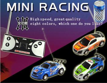 Новый в 2015 году 4CH RC New Coke мини-скоростной радиоуправляемый гоночный игрушечный автомобиль, акция игрушки в подарке