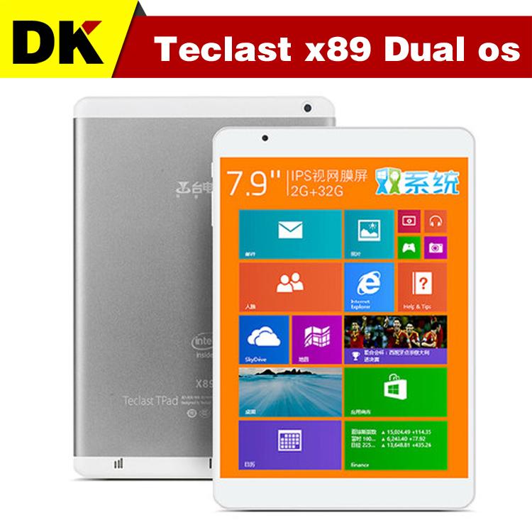 "7.9 "" IPS Teclast X89 Dual Os Windows 8.1 & Android 4.4 Intel Bay Trail-T Z3735F 2048X1536 2GB/32GB windows 8.1 HDMI(Hong Kong)"
