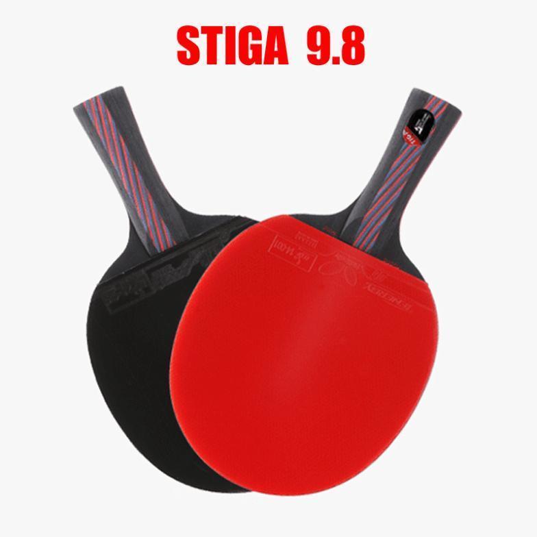 Ракетка для настольного тенниса STIGA 9,8 , STIGA 9.8 ракетка для настольного тенниса stiga impulse tube цвет красный