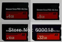 h2testw test real Capacity MS HG 4GB 8GB16GB 32GB Memory Stick Pro Duo Memory Cards  for sony  psp phone tablet camera(China (Mainland))