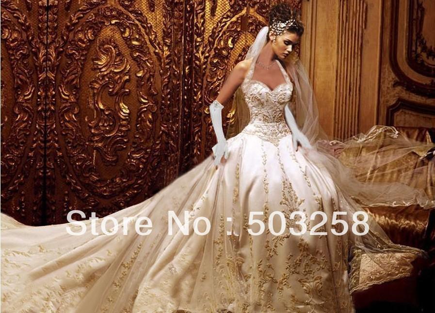 Gold wedding dresses handese fermanda gold wedding dresses junglespirit Gallery