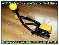 Manual Buckless Steel Strapping Tool Model A333 ,Steel Packing Tool  for 13-19mm Steel Strap