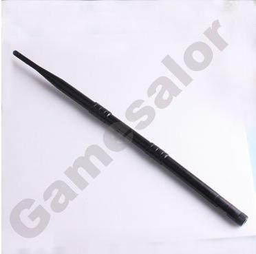 1Pc Black 2.4GHz 12dBi Wireless WIFI Network WLAN Antenna #9837(China (Mainland))