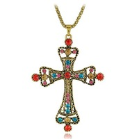Religious Jewelry Cross Necklaces Minimum Order USD15